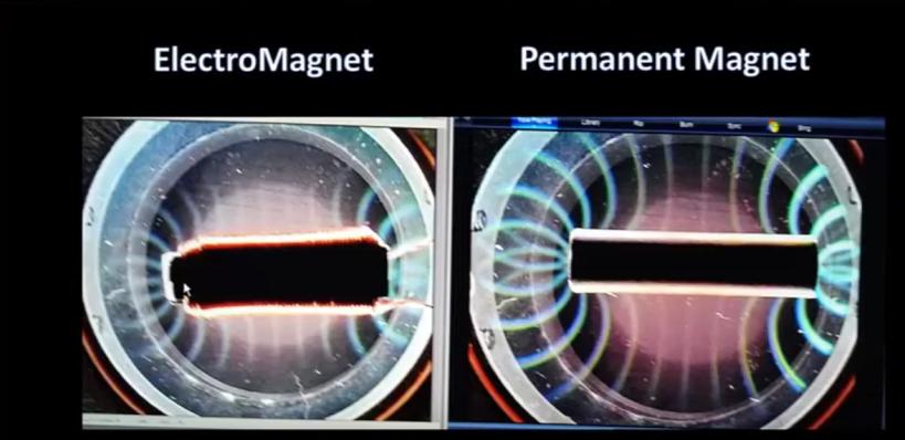 Permanent magnet vs electromagnet
